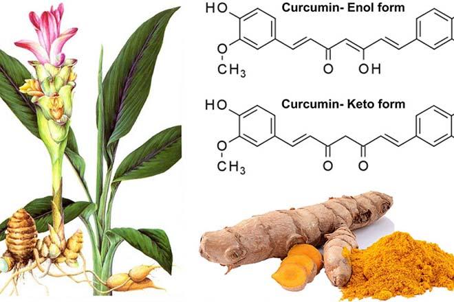 Công dụng chính của Curcumin